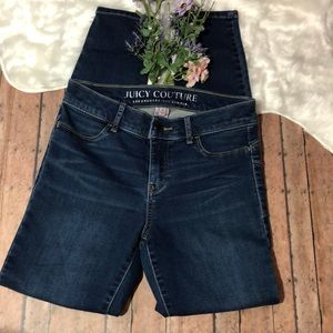 Juicy Couture Skinny Blue Jeans
